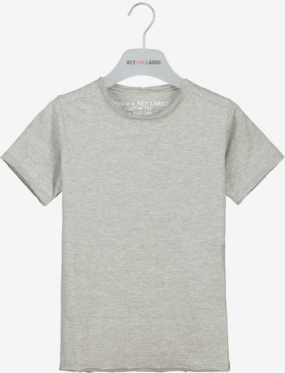 Key Largo T-Shirt 'BT BREAD' in silber, Produktansicht