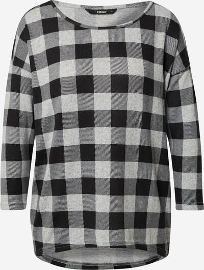 ONLY Tričko 'ELCOS' - svetlosivá / čierna, Produkt