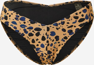 watercult Bikinibroek in de kleur Lichtbeige / Nachtblauw / Zwart, Productweergave