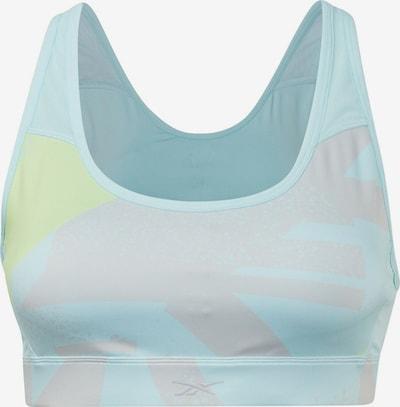 Sutien sport REEBOK pe albastru deschis / galben / roz, Vizualizare produs
