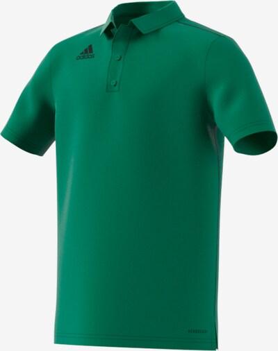 ADIDAS PERFORMANCE Poloshirt in grasgrün: Frontalansicht