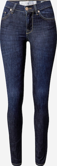 Yellow Blue Denim Jean 'New Soph' en bleu denim, Vue avec produit