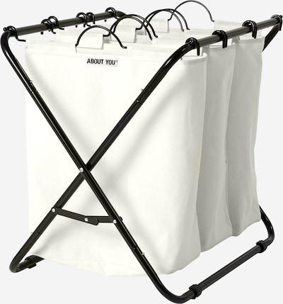 ABOUT YOU Kosz na pranie 'Homie' w kolorze offwhitem, Podgląd produktu