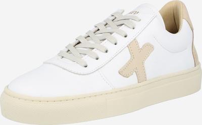 New Lab Sneaker 'NL06' in camel / weiß, Produktansicht
