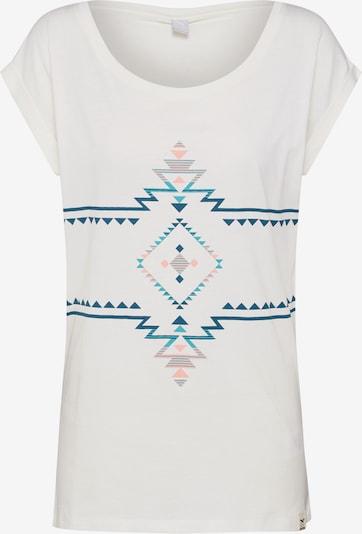 Iriedaily T-Shirt 'Kiowi' in weiß, Produktansicht