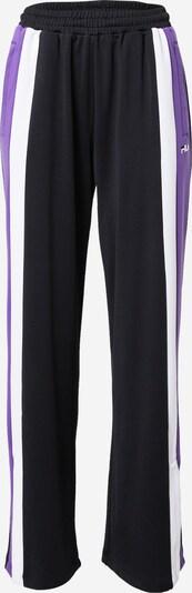 FILA Kalhoty 'BECCA' - fialová / černá / bílá, Produkt