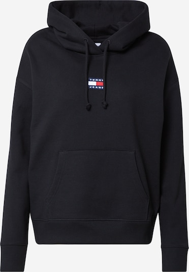 Tommy Jeans Sweatshirt i mørkeblå / rød / sort / hvid, Produktvisning