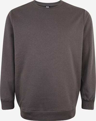 Urban Classics Big & Tall Sweatshirt in dunkelgrau, Produktansicht