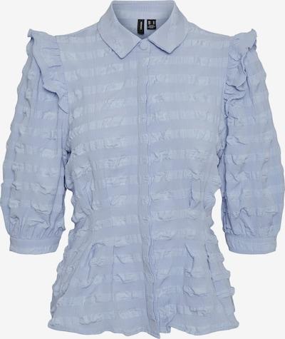 VERO MODA Bluse in blau, Produktansicht