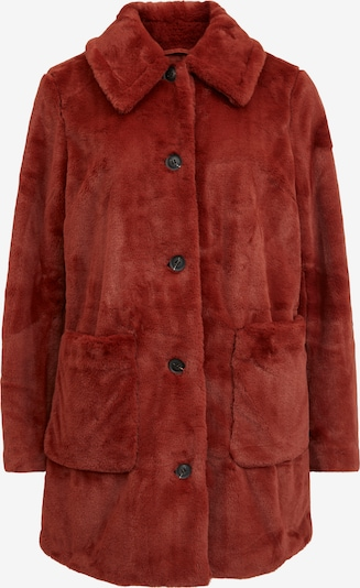 VILA Between-Seasons Coat 'Boda' in Rusty red, Item view