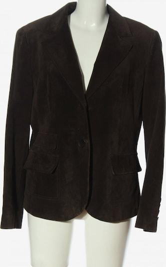 TAIFUN Leder-Blazer in XXL in braun, Produktansicht