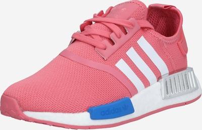 ADIDAS ORIGINALS Baskets basses en bleu / rose / noir / blanc, Vue avec produit