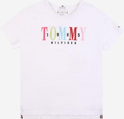TOMMY HILFIGER Majica u miks boja / bijela: Prednji pogled