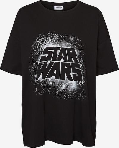 Noisy may T-Shirt 'Ida Starwars' in schwarz / weiß, Produktansicht