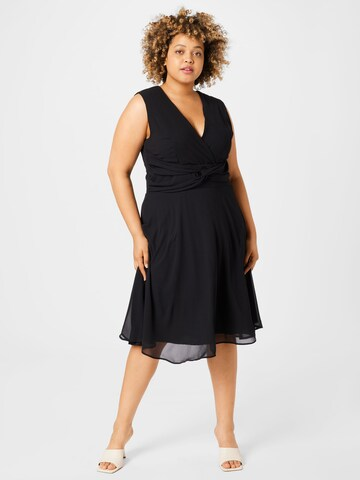 TFNC Plus Šaty 'SOREAN' - Čierna