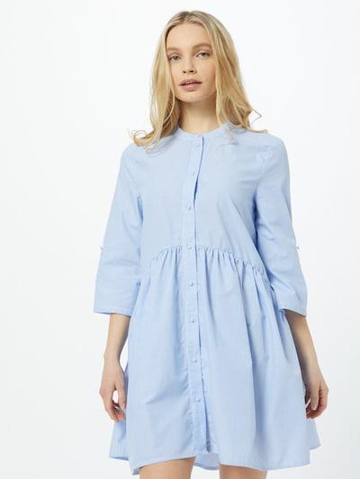 ONLY Kleid 'Chicago' in hellblau / weiß, Modelansicht