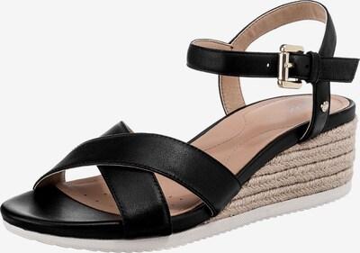 GEOX Sandaletten in beige / weiß, Produktansicht