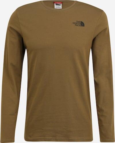 THE NORTH FACE Shirt in oliv / schwarz, Produktansicht