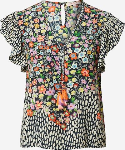 Camicia da donna 'ENTHOUSIASME' Derhy di colore beige / colori misti / arancione chiaro / nero / guscio d'uovo, Visualizzazione prodotti