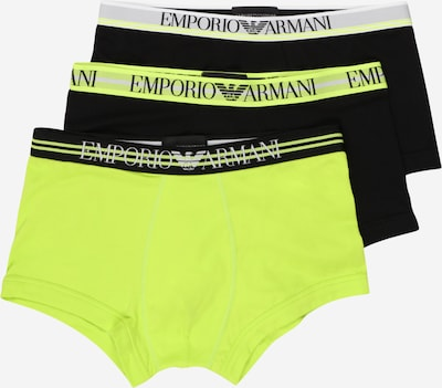 Emporio Armani Boxer shorts in light grey / lime / black, Item view