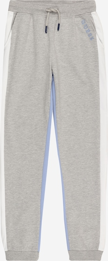 GUESS Trousers 'ACTIVE' in light blue / grey mottled / white, Item view
