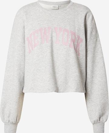 ONLYSweater majica 'Spencer' - siva boja