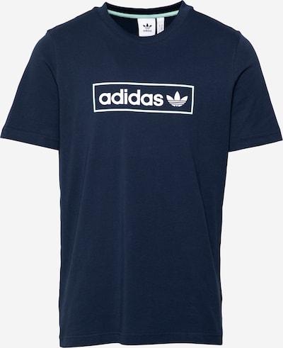 ADIDAS ORIGINALS Тениска в нейви синьо / бяло, Преглед на продукта