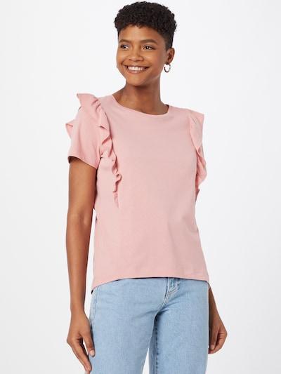 EDC BY ESPRIT Тениска в бледорозово: Изглед отпред