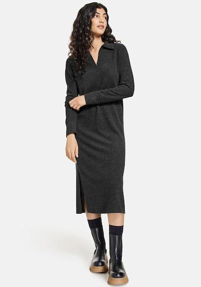 TAIFUN Kleid in anthrazit, Modelansicht