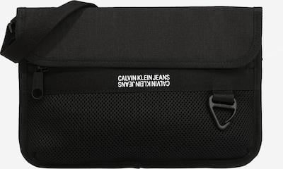 Calvin Klein Jeans Sac à bandoulière 'UTILITY GRID' en noir / blanc, Vue avec produit