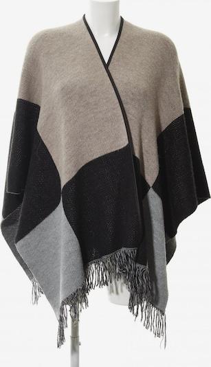 STACCATO Strickponcho in XS-XL in grau / dunkelgrau / schwarz, Produktansicht