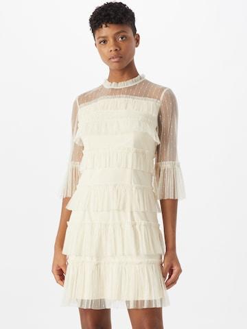 VILA Cocktail Dress 'SELMA' in White