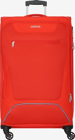 American Tourister Trolley 'Hyperbreez' in Rot
