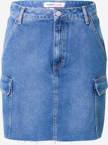 Fustă de la Tommy Jeans pe albastru
