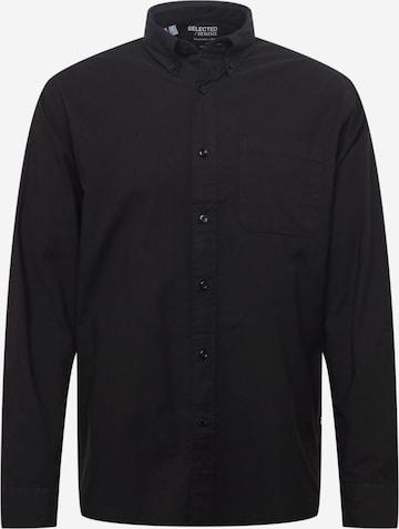 SELECTED HOMME Hemd in Schwarz