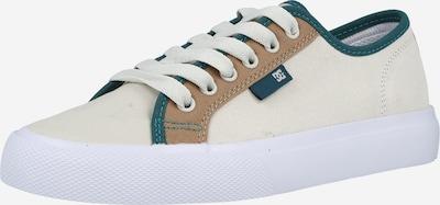 DC Shoes Zemie brīvā laika apavi 'MANUAL', krāsa - karameļkrāsas / zāles zaļš / balts, Preces skats