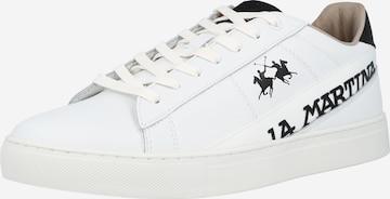 La Martina Sneakers in White