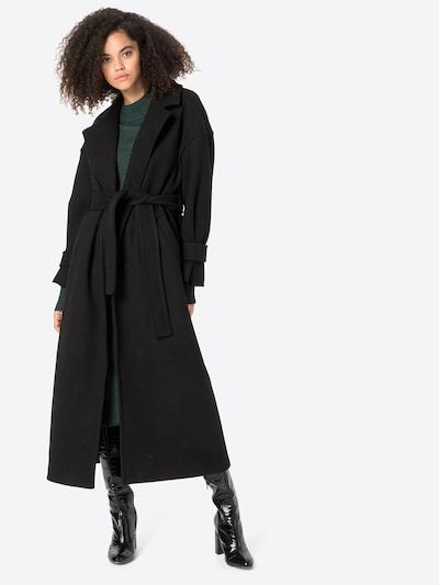 VERO MODA Between-Seasons Coat 'GRETEL' in Black, View model