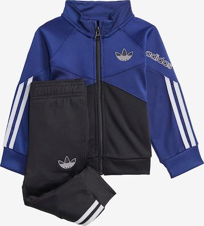ADIDAS ORIGINALS Trainingsanzug en royalblau / dunkelblau / weiß, Vue avec produit