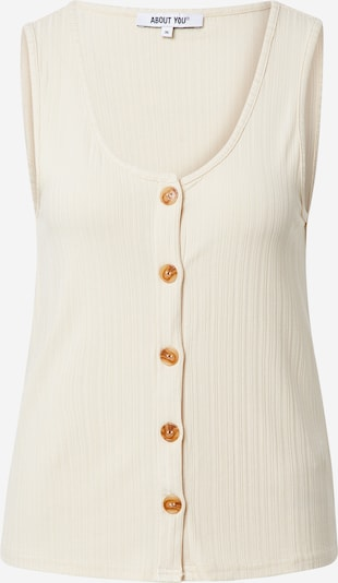 ABOUT YOU Top 'Ina' in Cream / White, Item view