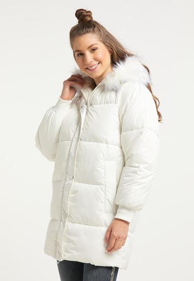 MYMO Winterjacke in weiß, Modelansicht