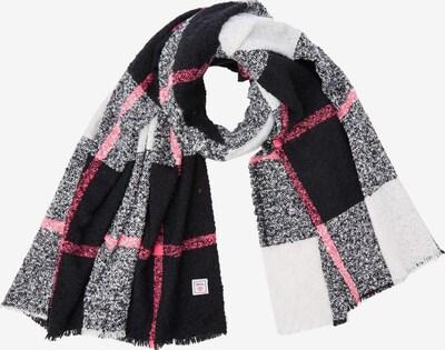 CECIL Schal in grau / pink / schwarz / weiß, Produktansicht