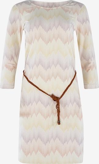 mazine Robe ' Lotte ' en crème / abricot / coquille d'oeuf, Vue avec produit