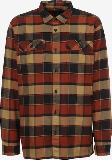 PATAGONIA Hemd ' Fjord Flannel ' in braun / orange / rot / schwarz, Produktansicht
