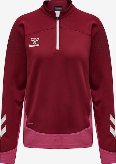 Hummel Trainingsjack in de kleur Bessen / Pink / Wit, Productweergave