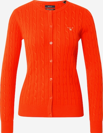 GANT Strickjacke in orangerot, Produktansicht