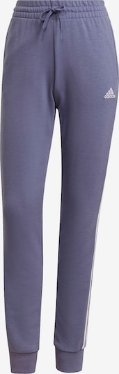 ADIDAS PERFORMANCE Workout Pants in Lilac / White, Item view