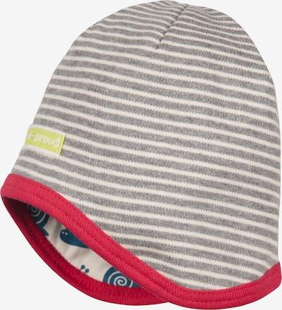 loud + proud Mütze in blau / grau / rot / weiß, Produktansicht