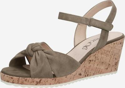 CAPRICE Sandale in oliv, Produktansicht