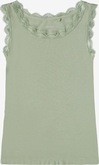 NAME IT Top 'Freya' en verde pastel, Vista del producto